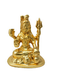 Gold Plated Shiva