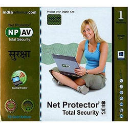 Net Protector(NP) CD Net Protector Total Security Gold Antivirus, 2018 , Windows