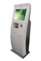 Floor Standing Touch Screen Visitor Management Kiosk