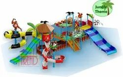 Water Play System With Jungle Theme