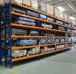 7 Feet Free Standing Unit Heavy Duty Industrial Storage Rack, 400 Kg