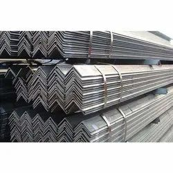 V Shape Stainless Steel MS Angle, For Construction, Size: 6 - 12m