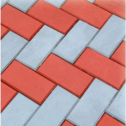 Concrete Rectangular Garden Paver Block, Thickness: 15 - 30 mm