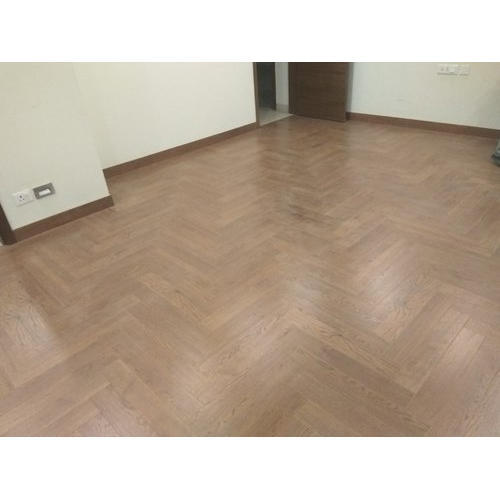 Brown Herringbone Parquet Flooring Rs 140 Square Feet Rs Wood