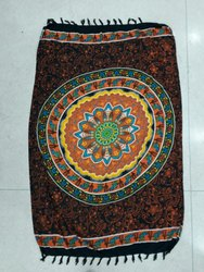 Printed Polyester Beach Towel Pareo