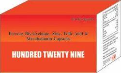 Ferrous Bis Gycinate Zinc Folic Acid & Mecobalamin Capsule