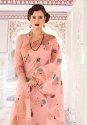 Rajtex Kraft Linen Saree Catalog Collection