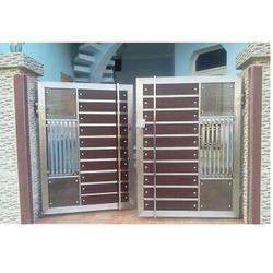 Stainless Steel Main Door at Rs 1000 /square feet | Stainless Steel Doors | ID 16307010348  sc 1 st  IndiaMART & Stainless Steel Main Door at Rs 1000 /square feet | Stainless Steel ...