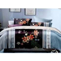 Printed Cotton Double Bed Sheets