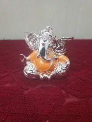 Ganesh Statue Silver