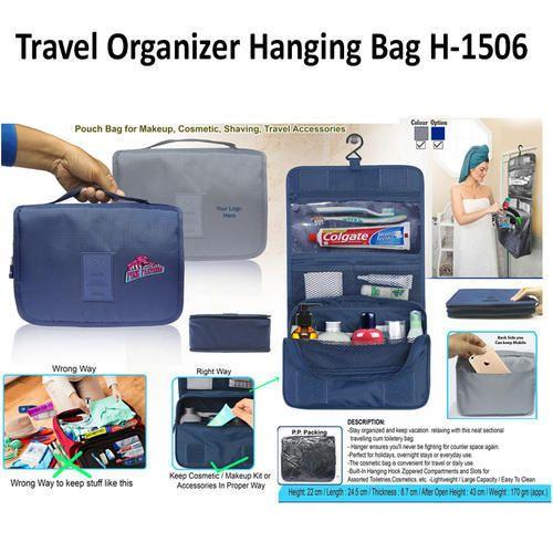 44c59476c8 Travelling Bag & Pouch - Traveling Organizer Bag Cum-Pouch H-1507 ...