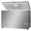 Hind Stainless Steel Deep Freezer, Top Open Door