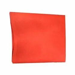 Orange cambric Cotton Chota Panna Aster, GSM: 100-150 GSM