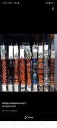 3D Wooden Pillar