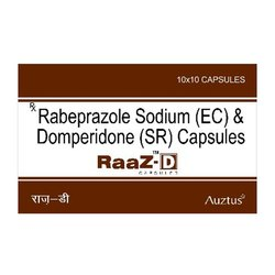 Rabeprazole 20 mg & Domperidone 30 mg SR Capsules