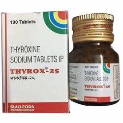 Macleods Thyrox 25 Packaging Type Bottle Rs 115 Unit Vatika