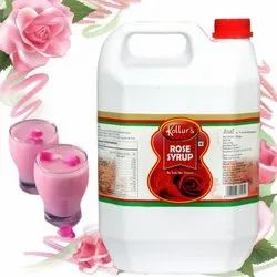 Kollur's Rose Syrup - 40 kg, Pack Type: Hdpe Can