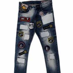 Regular Fit Casual Wear Denim Fancy Mens Jeans, Waist Size: 32 And 36