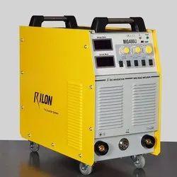 50 - 60 Hz 3 Phase Rilon MIG 400 IJ Welding Machine, Capacity: 14 Kva (input Power), 380+-15% Vac