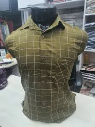 Men Delivea Check Shirts