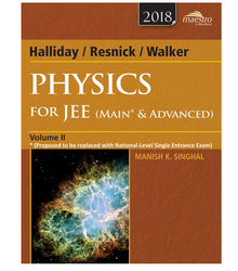 Wiley's Halliday / Resnick / Walker Physics for JEE Book