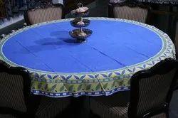 Tripta Cotton Printed Round Table Cover, Size: 70 Cm