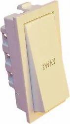 Neeon Wave 6A 2-Way Switch XL, Switch Size: 2 Module