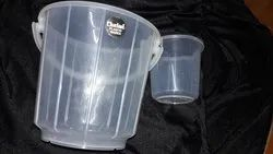 Transparent Bucket