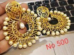 Metal Designer Earrings