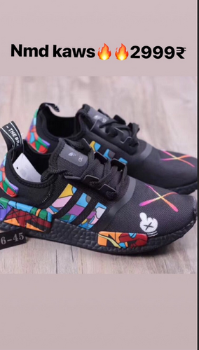 competitive price 9c027 509f2 Multi Color Men Nmd Kaws Sports Shoes, Size  (6 And 7