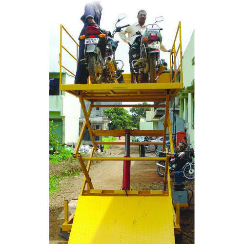Omkar Hydraulic Bike Loading Lift