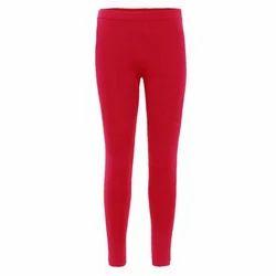 Red Cotton Ladies Churidar Legging, Size: XL and XXL
