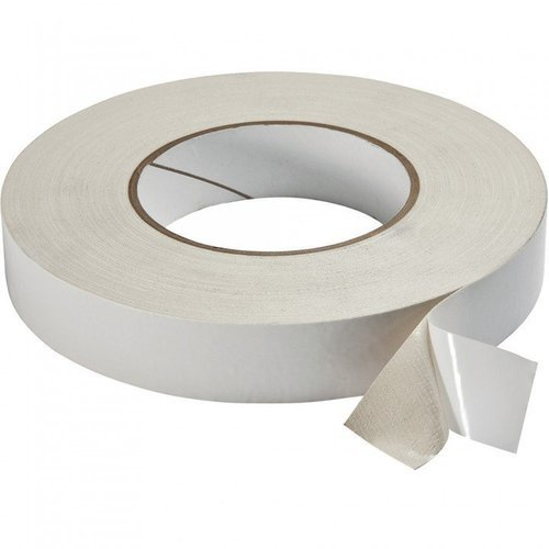 White Double Sided Sticky Tape For Packaging Rs 30 Roll