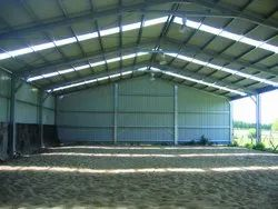 Wide Span Shed