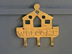 Brass House Key Rack Key Holder