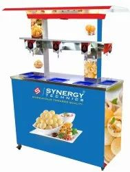 Stainless Stell Stainless Steel Pani-Puri Water Serving Machine, For Commercial