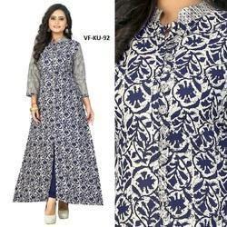 Indian Ethnic Designer Cotton Printed Kurti