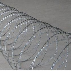 Punched Tape Concertina Wire
