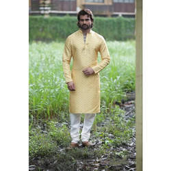 Party Wear Men Kurta with Churidar
