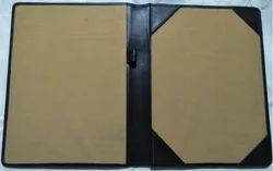 Leather Menu Folder