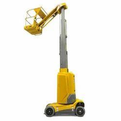 Yellow Vertical Mast Lift