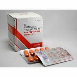 Cerecetam Tablets 400 mg / 800 mg / 1200 mg