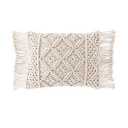 Cotton Macrame Tassel Fringe Cushion Covers