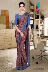 Uniform Sarees for College Teacher