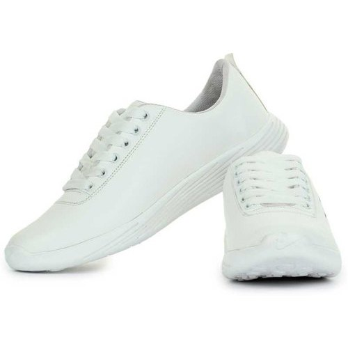 Men White Partywear Sneakers Shoes, Rs