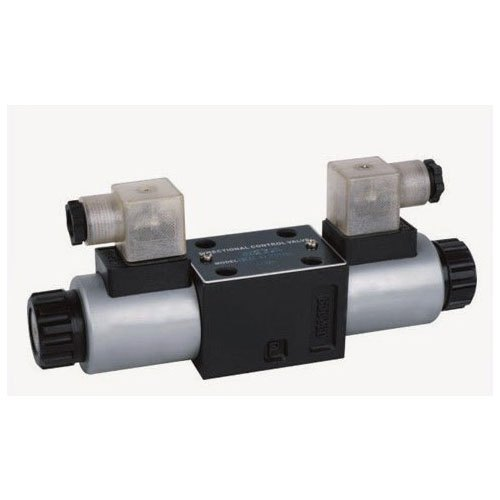Black, Silver Stainless Steel Industrial Hydraulic Valves