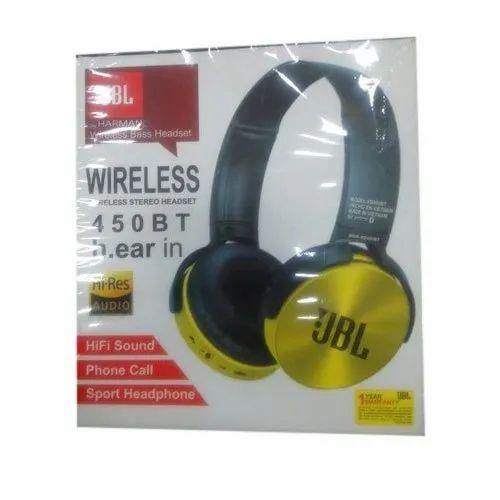 Jbl T450bt Wireless Headphone 145 G Rs 380 Piece Aashapura Mobile Accessories Id 20669158688