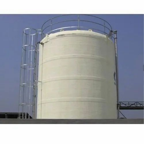 Stainless Steel SS Chemical Storage Tank, Storage Capacity: 1000-5000 L