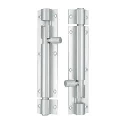 Silver Aluminum Tower Bolt for Doors, Packaging: Box
