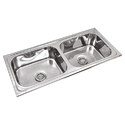 Exclusive Square Double Sink